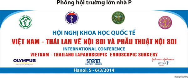Tài liệu Hội thảo Quốc tế về Nội soi và Phẫu thuật nội soi