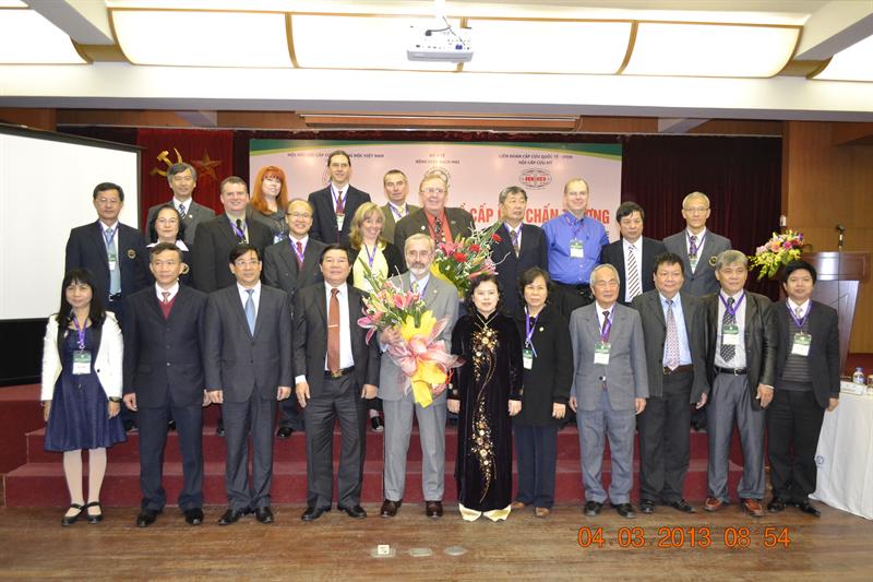 Hội thảo Quốc tế và Đào tạo Cấp cứu chấn thương