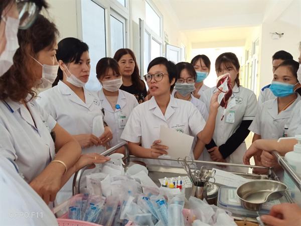 Hỗ trợ chuyên ngành Huyết học tại BVĐK tỉnh Sơn La