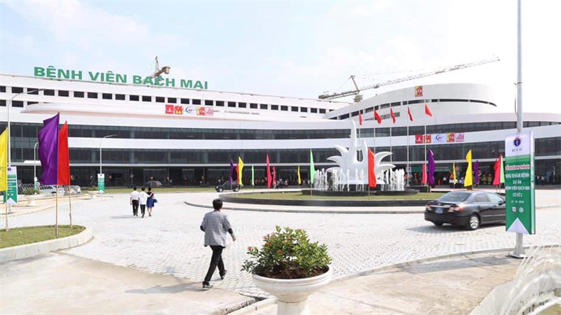 Phòng khám bệnh đa khoa - Bệnh viện Bạch Mai cơ sở 2 sẽ chính thức hoạt động từ ngày 25/03/2019