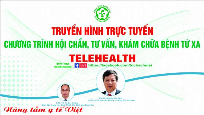 Chương trình Telehealth ngày 26/11/2020