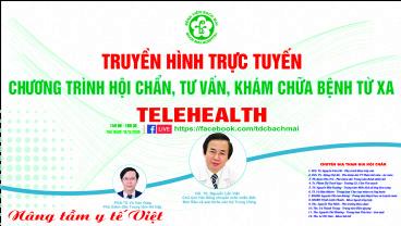 Chương trình Telehealth ngày 12/11/2020