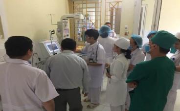 Triển khai kỹ thuật Cấp cứu nhi, sơ sinh  tại Bệnh viện đa khoa khu vực Ngọc Lặc tỉnh Thanh Hóa