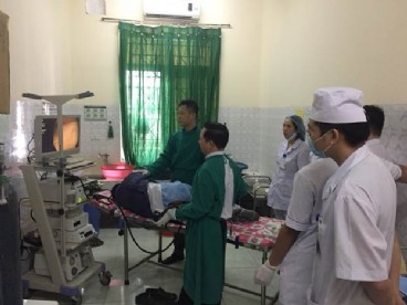 Triển khai kỹ thuật nội soi đại tràng gây mê tại Bệnh viện đa khoa khu vực huyện Ngọc Lặc