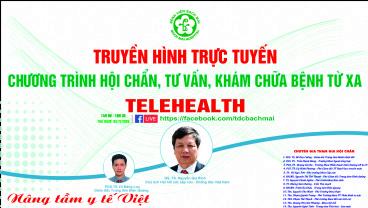 Chương trình Telehealth ngày 5/11/2020