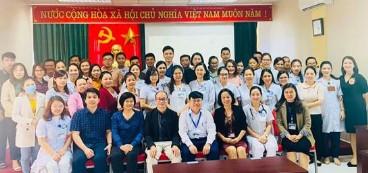 50 bác sĩ của tỉnh bắc kạn được cập nhật kiến thức  chuyên ngành truyền nhiễm tại bệnh viện tỉnh