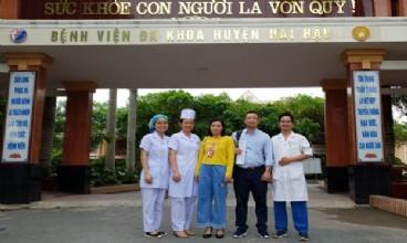Tiếp nhận và triển khai thành công các gói kỹ thuật chuyển giao theo nguồn kinh phí đề án 1816 năm 2019 tại bệnh viện đa khoa huyện hải hậu