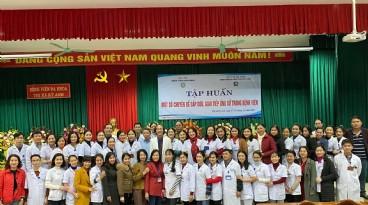 Nâng cao Kỹ năng giao tiếp - Kỹ năng thiết yếu cho 100 cán bộ viên chức Bệnh viện đa khoa Thị xã Kỳ Anh tỉnh Hà Tĩnh