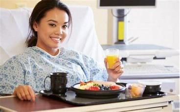 Chế độ dinh dưỡng tốt, giúp bệnh nhân nhanh chóng hồi phục sau phẫu thuật