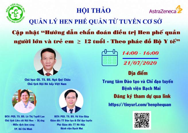 Hội thảo quản lý Hen phế quản từ tuyến cơ sở