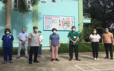 Khảo sát, đánh giá, tư vấn đơn vị chẩn đoán và điều trị bệnh nhân F0 ba lần âm tính tại Bệnh viện Phổi tỉnh Điện Biên